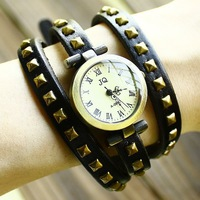Women  Wholesale fashion Genuine Cow leather band quartz watch, lady watch nw462