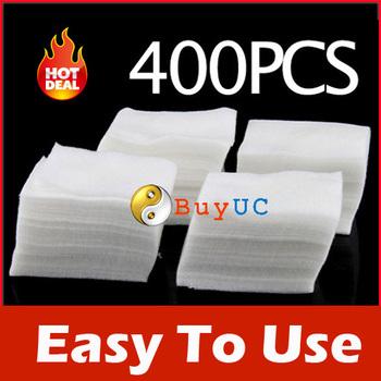 400Pcs Nail Art Wipes Polish Acrylic Gel Tips Remove