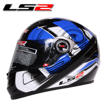 LS2 FF358 motorcycle helmet  Urban Racing Helmet  gloss black