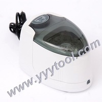 220V, 140 ml Ultrasonic cleaner CD/DVD/false tooth/galsses/jewelry ultrasonic cleaners