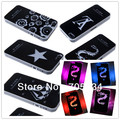 Wholesale Logo Changed Sense Flash LED light case for iphone5 Luminescence Cover Apple iPhone 5 5G Free Shipping