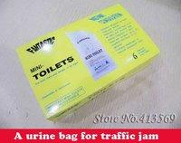 Portable urine bag for Car Caravan Urinal Toilet Camping Travel,Fantastic mini-toilet,Free shipping