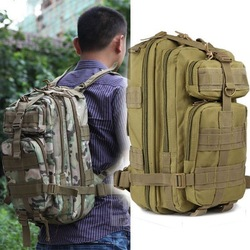 Outdoor Military Tactical Men Backpack Camping Bag Hiking Trekking Rucksacks # L09137(China (Mainland))