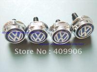 4 Pieces Metal License Plate Frame Bolts Screws for Volkswagen VW Passat Jetta Golf Polo Tiguan Touran Toureg