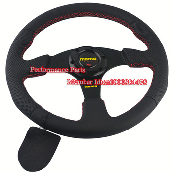 350mm MOMO Steering Wheel Universal Racing Steering Wheel Sport Car Steering Wheel