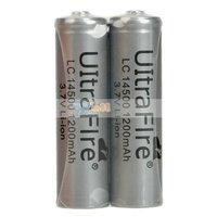 4Pcs UltraFire 14500 3.7V 1200mAh Li-on Rechargeable Battery Free Shipping 88008515