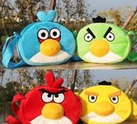 Cartoon Birds Plush Baby Children Kid's Satchel Kindergarten School BAG Pack Shoulder BAG Satchel Outdoor Storage BAG Pack Case