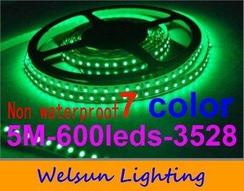 Wholesale Non-waterproof 600LED 3528 LED Strips SMD LED Flexible Light