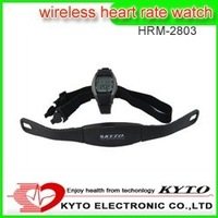 wireless pulse measuring watch digital heart rate HRM-2803