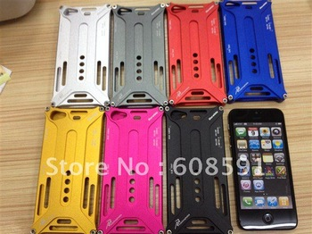 newest Arachnophobia Durable Aluminium Metal Bumper Cover Case for iphone 5 5g 5s ,50pcs/lot+retail box  DHL free shipping