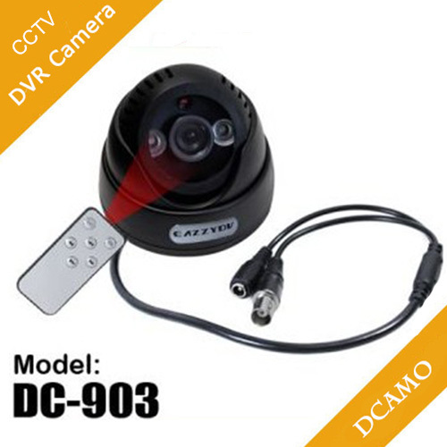 free shipping CCTV Dome Camera with SD card record and Motion Detect recorder(China (Mainland))