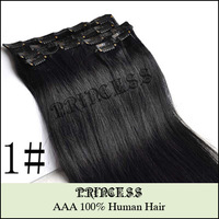 "Princess AAA + 20""/32"" 105g 16clips /140g 21clips #8/613"