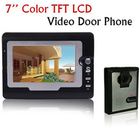 Home 7 Inch Color TFT LCD Video Door phone DoorBell Intercom System