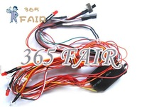 FREE Shipping 5pcs/lot navigation lights R/C Lighting System LED Light System for RC helicopter or RC Airplane