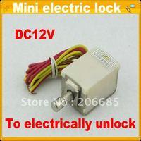 Mini small cabinet lock - GX01 electric lock, Free shipping, solenoid lock