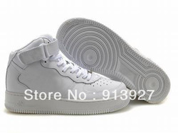 Free Shipping Women Force 1 High Top One Shoes By EMS(China (Mainland))