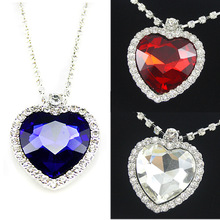 titanic heart of the ocean necklaces Crystal silver -plated Necklaces & Pendants topshop necklaces for 2013 women gifts nke-h25