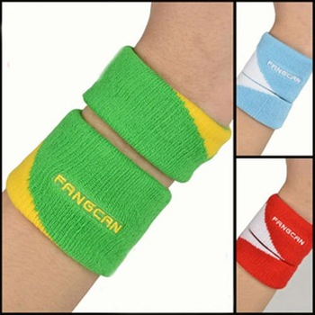 FANGCAN Sport Wrist Support Compose Jacquard wristband Protector Sweatband for Basketball/Tennis/Badminton/Volleyball, Fitness