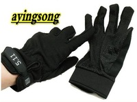 Cycling  gloves 2012 Mens Military tactical  full finger Sports Gloves Black,motorcycle gloves M / L / XL