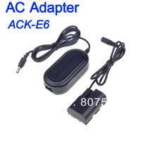 AC Power Supply Adapter Charger For Canon ACK-E6 EOS 7D 60D 5D Mark II III Adaptador 10 pcs/lot Free DHL