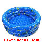 80- 90cm trinuclear inflatable paddling pool baby swimming pool baby bath