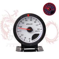 """2.5"""" 60MM Defi Advance CR Gauge Meter  Volt Voltage Meter  Defi Gauges  Car Meter"""