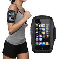 Armband Case for iPhone 5 Black Tune Belt Sports Running Workout Gym Bag Bolsa pra Academia