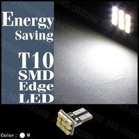 White 50Pcs T10 9 SMD LED 147 158 Turn Signal Light Bulb 17mm x 8mm DC 12V Pannel