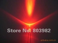 Hot sale RED 3mm round package led diode 2-pin dip led 1.8-2.0V 620-630nm(CE&Rosh)