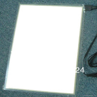 A4 flashing  el backlight panel white light with  battery inverter