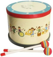 Free shipping Children puzzle  percussion toy musical instrument for kids  Korea drum