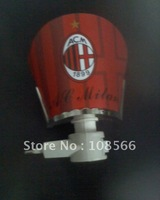 acmilan red night light  / popular wall lamp / soccer fans energy saving light