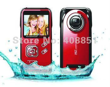 2.0 inch TFT LCD HD 1080p video recorder 3M Waterproof Shockproof DV 16M MegaPixel HDMI port Free shipping