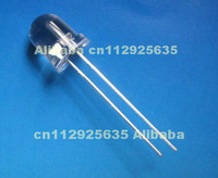 13000-15000mcd high lumen 8mm white leds(through hole light emitting diode)