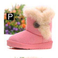 Retail 2014 New fashion Children snow boots/girls winter Antislip shoes kids baby warm boots