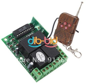 In stock 12v 4 Channel Rf Wireless Remote Control Switch Receiver Module With Controller