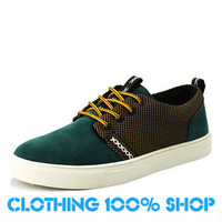 2013 New Top Fashion  Men's skateboarding shoes casual sports genuine leather skate shoes Men AO5#31