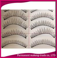 Taiwanese hand-woven natural bare makeup false eyelashes 215 cotton Terrier - Free shipping