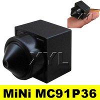 NEW Color Pinhole lens 90deg view 480TVL Mini CCTV Camera Wide voltage 3.6-24V MC91P36 Free Shipping