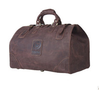Men Travel Bag Large Capacity Luggage & Travel Duffle Wild Style Real Leather Vintage Style Tote 8151