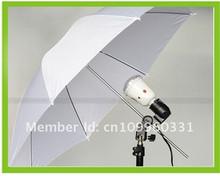 Flash Diffuser 33 33 inch 84cm White Soft Umbrella for Camera Photo Studio Free Shipping