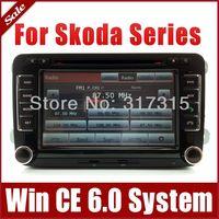 "7"" Car DVD Player for Skoda Fabia Octavia Superb Roomster with GPS Navigation Radio TV BT USB SD AUX Map iPod Audio Video SatNav"