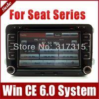 "7"" Car DVD Player for Seat Altea Altea XL Leon Toledo with GPS Navigation Radio Bluetooth TV Map USB SD AUX Audio Stereo SatNav"