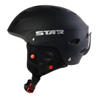 Free delivery STAR Fashionable ski helmet Senior ski helmet