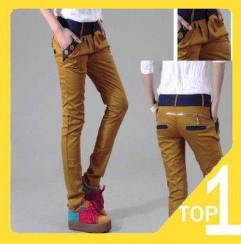 New fashion 2015 women Cotton winter Casual Slim Harem Pants Flexible womens trousers Top Brand Fashion Sweet colours plus size