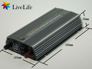 LiveLife micro inverter! 800w wind grid tie power inverter, 15-30v to 230v, DC to AC  for 24V wind turbine