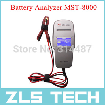 Digital Battery Analyzer with Printer Built-in MST-8000 2015 Newest  Battery Tester  with Best Price