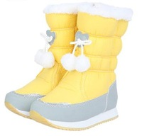 New 2013 Athletic Shoes Reima Girl Shoes Kids Waterproof Slip-Resistant Snow Boots Winter Boots Children Boots