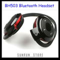 Freeshipping BH503 BH-503 Wireless Bluetooth Headset, Stereo Bluetooth Earphone