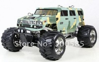 Free Shipping-30.5cc Engine 4WD Hummer RC Truck RC Car 2.4G RTR